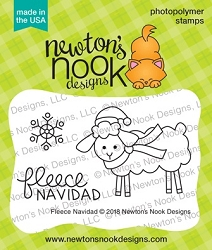 Newton's Nook - Clear Stamp - Fleece Navidad