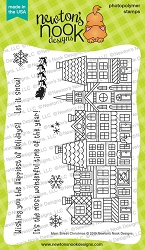 Newton's Nook - Clear Stamp - Main Street Christmas