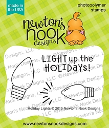 Newton's Nook - Clear Stamp - Holiday Lights