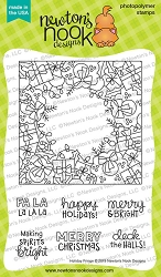 Newton's Nook - Clear Stamp - Holiday Fringe