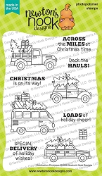 Newton's Nook - Clear Stamp - Destination Christmas
