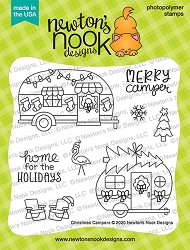 Newton's Nook - Clear Stamp - Christmas Campers