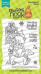 Newton's Nook - Clear Stamp - Holiday Post
