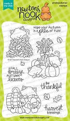 Newton's Nook - Clear Stamp - Autumn Newton