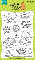 Newton's Nook - Clear Stamp - Newton's Thanksgiving