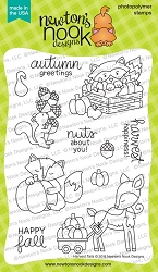 Newton's Nook - Clear Stamp - Harvest Tails