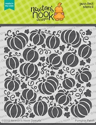 Newton's Nook - 6x6 Stencil - Pumpkin Patch