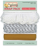 October Afternoon - Farmhouse - Wrap Pack (ribbon and twine)