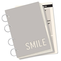 October Afternoon - Midway Collection - Here & Now Smile Book :)