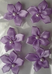 Offray Ribbon Embellishments - Pearl Violet - Orchid