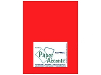 Vellum 8.5x11 - Red (1 sheet)