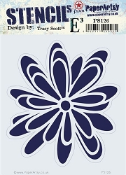 Paper Artsy - Stencil - {ETS} 126 by Tracy Scott