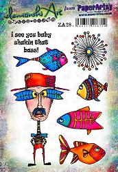 Paper Artsy - Elenazinski Art Cling Mounted Rubber Stamps - Elenazinski Art 28