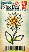 Paper Artsy - Eclectica Cling Mounted Rubber Stamps - Darcy Mini 03