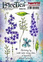 Paper Artsy - Eclectica Cling Mounted Rubber Stamps - Kay Carley 05