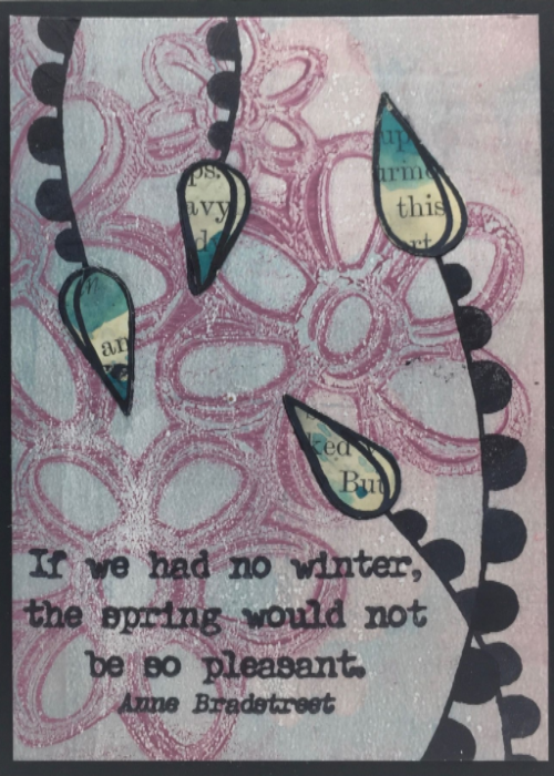 Paper Artsy Eclectica Cling Mounted Rubber Stamps
