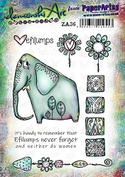 Paper Artsy - Elenazinski Art Cling Mounted Rubber Stamps - Elenazinski Art 36