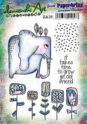 Paper Artsy - Elenazinski Art Cling Mounted Rubber Stamps - Elenazinski Art 38
