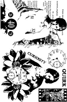 Paper Artsy - Cling Mounted Rubber Stamp Set - Ink and the Dog Eclectic 3