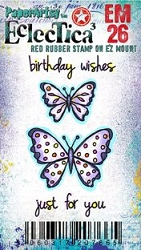 Paper Artsy - Eclectica Cling Mounted Rubber Stamps - Kay Carley MINI 26