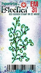 Paper Artsy - Eclectica Cling Mounted Rubber Stamps - Kay Carley MINI 31