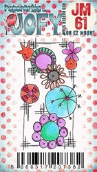 Paper Artsy - JOFY Cling Mounted Rubber Stamps - Mini 61