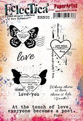 Paper Artsy - Eclectica Cling Mounted Rubber Stamps - Sara Naumann 32
