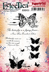 Paper Artsy - Eclectica Cling Mounted Rubber Stamps - Sara Naumann 33