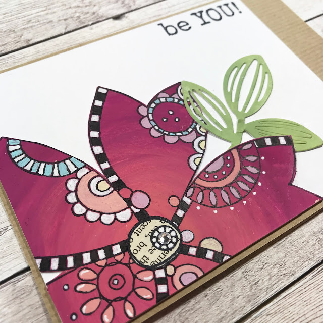 Paper Artsy - JOFY stamps and stencils