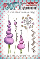 Paper Artsy - JOFY Cling Mounted Rubber Stamps - Large set 38