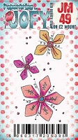 Paper Artsy - JOFY Cling Mounted Rubber Stamps - Mini 49