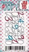 Paper Artsy - JOFY Cling Mounted Rubber Stamps - Mini 55