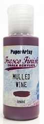 Paper Artsy - Fresco Finish Acrylic Paints - Mulled Wine (opaque)