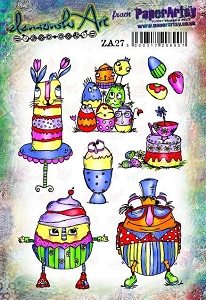 Paper Artsy - Elenazinski Art Cling Mounted Rubber Stamps - Elenazinski Art 27