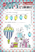 Paper Artsy - JOFY Cling Mounted Rubber Stamps - Large set 02