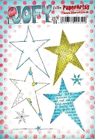 Paper Artsy - JOFY Cling Mounted Rubber Stamps - Large set 08