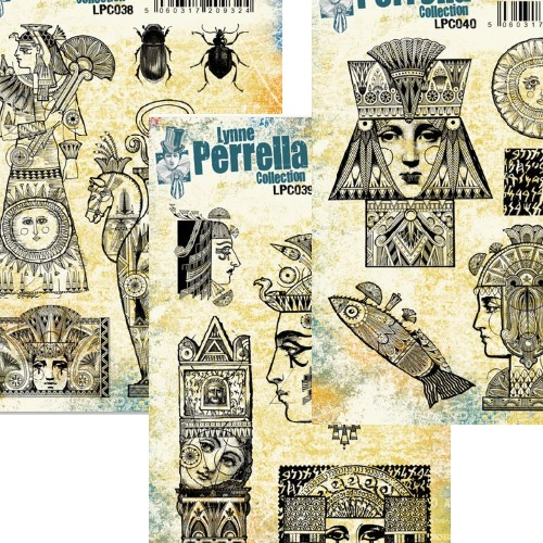 Paper Artsy - 3 new Lynne Perrella stamps!