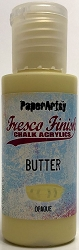 Paper Artsy - Fresco Finish Acrylic Paints - Butter (opaque)