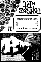 Paper Artsy - Cling Mounted Rubber Stamp Set - Man of Numbers Plate 5