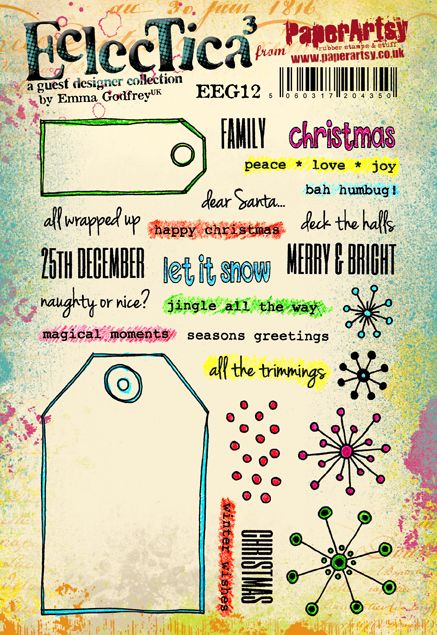 Cling Stamps - Eclectica Emma Godfrey