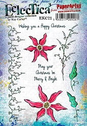 Paper Artsy - Eclectica Cling Mounted Rubber Stamps - Kay Carley 21