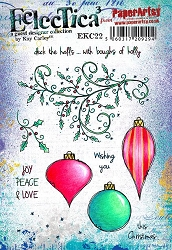 Paper Artsy - Eclectica Cling Mounted Rubber Stamps - Kay Carley 22