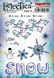 Paper Artsy - Eclectica Cling Mounted Rubber Stamps - Kay Carley 23