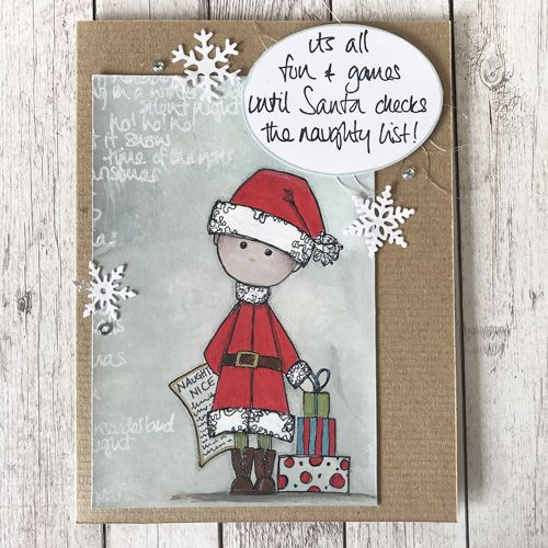 Paper Artsy - JOFY Christmas stamps