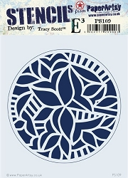 Paper Artsy - Stencil - {ETS} 109 by Tracy Scott