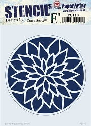 Paper Artsy - Stencil - {ETS} 110 by Tracy Scott