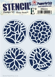 Paper Artsy - Stencil - {ETS} 111 by Tracy Scott