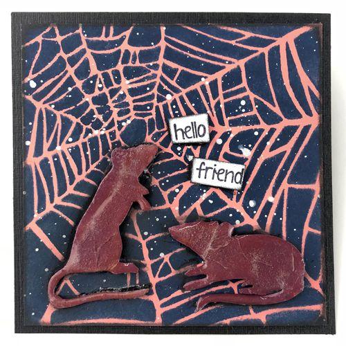14-165 PS155 Paper Artsy Stencils Paper Artsy Stencil 155 Paper Artsy Paper Artsy Stencil Foliage Stencil Flourish Stencil