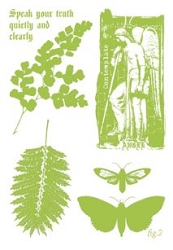 Paper Artsy - Cling Mounted Rubber Stamp Sets - Nature 2