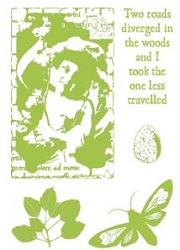 Paper Artsy - Cling Mounted Rubber Stamp Sets - Nature 4